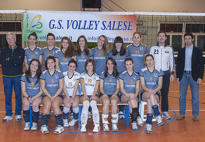 Float block image gruppo sportivo volley salese